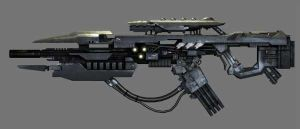 Chimeran Auger Rifle by Seargent-Demolisher