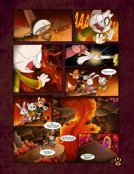 True Tail : One Halloween Night (Page 3 of 14) by SkynamicStudios