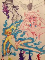 More doodles by DrawerMich