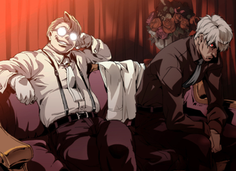 Hellsing ~ The Major and The Captain by jch15jch15