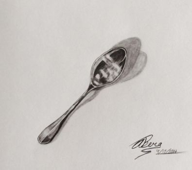 Realism Study: The Spoon by AshleyWithAHeart