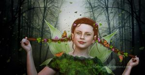 Little Fairy by maiarcita