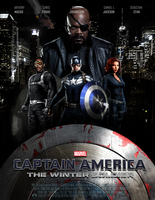 CAPTAIN AMERICA: THE WINTER SOLDIER - POSTER II by MrSteiners