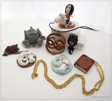 Fantasy - Neverending Story clay collection by buzhandmade