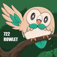 722-ROWLET by YeyoXD