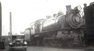 PRR class E7s and Ford Model A by PRR8157