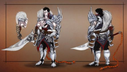 Warrior concept by Maxthe