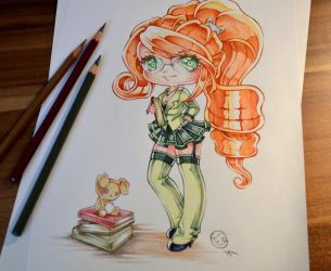 Tutorial for the Coloring Book by Lighane