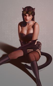 Catwoman by achibner