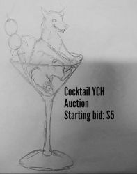 Cocktail YCH Auction by Dodgesmiley