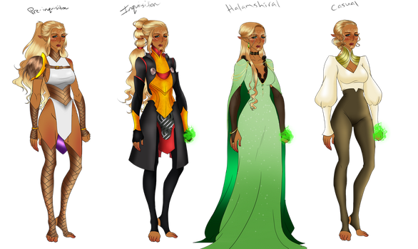 Atheriel clothes transparent by TheMightyMags