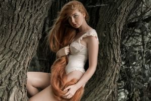 # Eve in the forest 2 by Mishkina