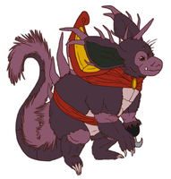 Redesigning Nidoking again by GrayWolfShadow