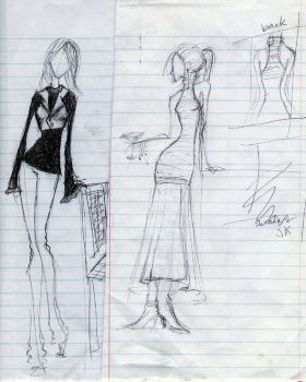 Fashion scraps by Taede