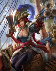 League of Legends - Captain Fortune fanart by derrickSong