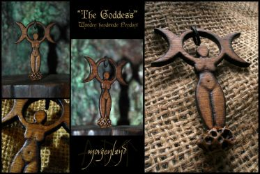 The Goddess - version II by morgenland
