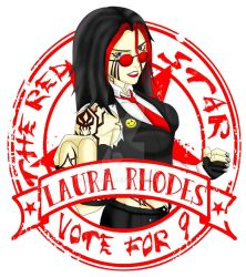 Laura's design to T-shirt  by setsu185