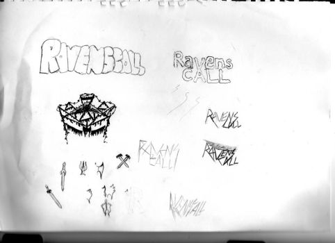 Logo ideas for my band by Vlad-D