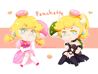 Peachette by Artist-squared
