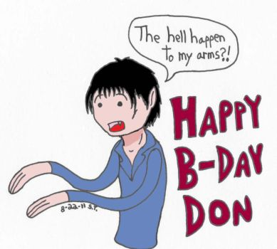 Another birthday drawing by Agent-Sarah