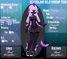 Relationship form - Galyn by JadeyW