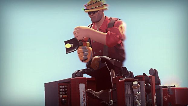 Ridin' above the Fort by IBRXGmod