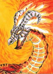 #10 Volvagia King of Fire by Lyfesa