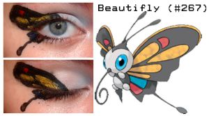 Pokemakeup 267 Beautifly
