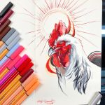 9- Sussex Rooster by Lucky978