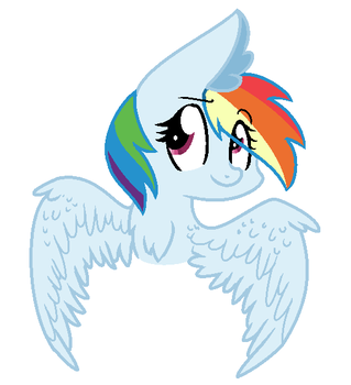 Rainbow Profile by EarthPonyProjects