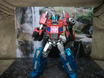 TF Generations FOC Optimus Prime Metallic by GRIMLOCKPRIME108