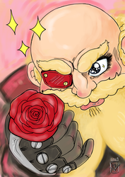 a rose for a Rose by mfellinger