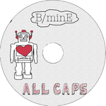All Caps Album Art CD face by xxpariskid
