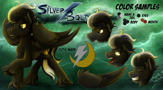 Silver Bolt drawn by james corck by phantomxV1