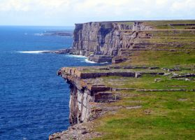 Cliffs Of Inishmore by golden-demeter