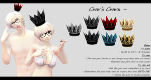 [MMD] Crows Crown DL ~ by o-DSV-o
