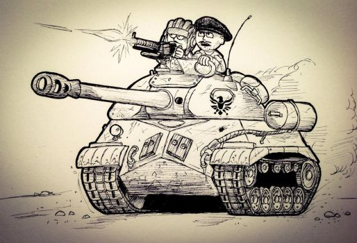 IS-3: Too Late by The-General-Moe