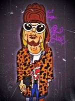 Kurt Cobain by biel12