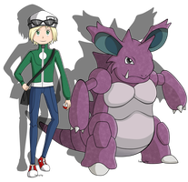 PC: Trainer and Nidoking