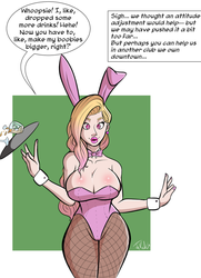 Interactive TG Extension CMSN: Bimbo Bunny Girl by Jakal63