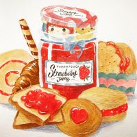 Sneaky Strawberry Jam by funkyatelier