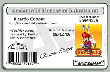 Deviant ID by ricktendo64