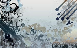 Vectors  and grunge wallpaper by DeniseEsposito