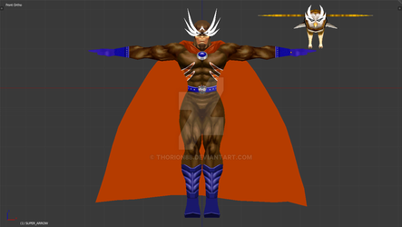 Super Arrow in Blender by Thorion88