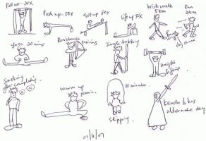 ..in exercise.. by Talk3talk4