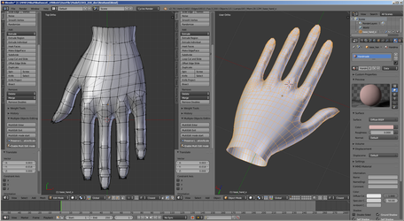 [MMD WIP] Path to C6V3 n.5 (hands) by Riveda1972