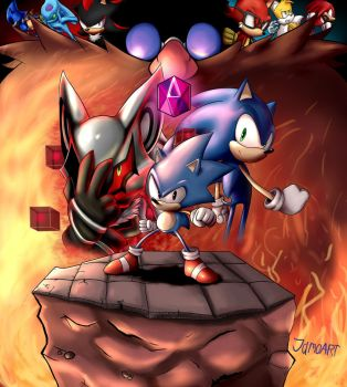SONIC FORCES by JamoArt