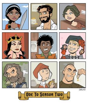 Ode to Galavant Season Two by BillWalko