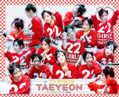 [ PACK RENDER #43 ] 25 PNGS TAEYEON - SNSD by Risahhh