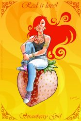 Strawberry Girl NEW VERSION by Emerson-Lopes